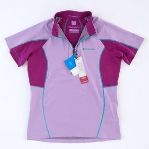 COLUMBIA Women's Purple Outdoor Shirt Large NWT